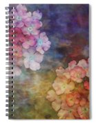 Baby Pink Flowers 3133 Idp_22 Spiral Notebook