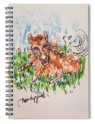 Baby Pony Spiral Notebook