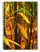 Baby Tree Foliage Spiral Notebook