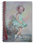 Baby's Debut Spiral Notebook