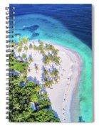 Bacardi Beach Spiral Notebook