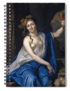 Bacchante Spiral Notebook