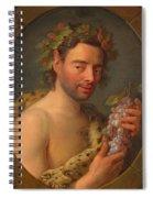 Bacchus Spiral Notebook