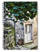 Back Alley Living Spiral Notebook