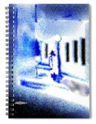 Back Alley Rendezvous Spiral Notebook