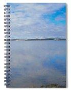 Back Bay Boardwalk Spiral Notebook
