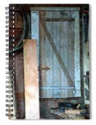 Back Corner Closet Spiral Notebook