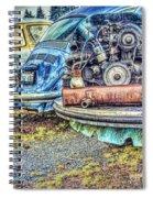Back End Bugs Spiral Notebook