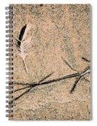 Back For Ever Zen Spiral Notebook