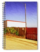 Back Gate Spiral Notebook