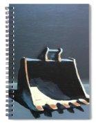 Back Hoe Bucket 2 Spiral Notebook