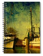 Back Home In The Harbor Spiral Notebook