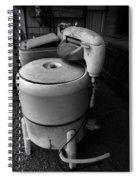Back In The Day When Washing Clothes Was Fun Spiral Notebook