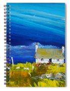 Back  Of Keppoch Cottage, Arisaig Spiral Notebook