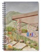 Back Patio Spiral Notebook