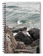 Back Swirl Spiral Notebook