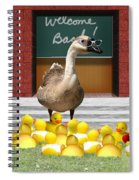 Back To School Little Duckies Spiral Notebook