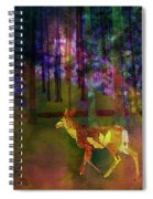 Back To The Forest Spiral Notebook