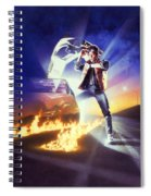 Back To The Future 1985 Spiral Notebook
