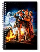 Back To The Future Part IIi 1990 Spiral Notebook