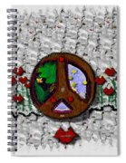 Back To The Green Nature With A Angel Smile Spiral Notebook