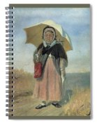 Back To The Holy Trinity 1870 Q D 25h19 Pm 7 Tg Vasily Perov Spiral Notebook