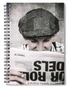Back When News Was True Spiral Notebook