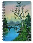Back Woods Bridge Spiral Notebook