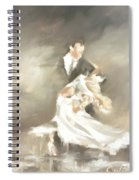 Backbend Spiral Notebook