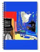 Backdrop  Traveling Tintype Photographer John A. Coffer  Tombstone Arizona 1980-2009 Spiral Notebook