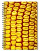 Background Corn Spiral Notebook
