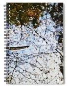 Background Nature Green Spiral Notebook