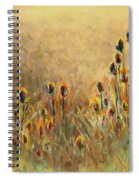 Backlit Thistle Spiral Notebook