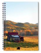 Backroad  Spiral Notebook