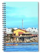 Fishermans Wharf 2 Spiral Notebook
