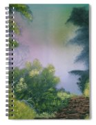 Backwoods Mist Spiral Notebook