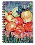 Backyard Apples Spiral Notebook