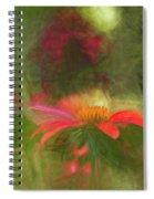 Backyard Coneflower Spiral Notebook