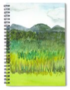 Backyard In Barton Spiral Notebook