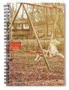 Backyard Play Spiral Notebook