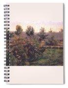 bacon garden landscape c1894 Henry Bacon Spiral Notebook