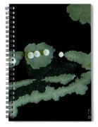 Bacterial Colony, Lm Spiral Notebook