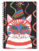 Bad Cattitudes Birthday Spiral Notebook