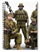 Bad Company Spiral Notebook