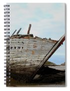 Bad Eddie's Boat Donegal Ireland Spiral Notebook