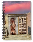 Bad Juju Spiral Notebook