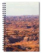 Badlands #3 Spiral Notebook