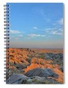 Badlands Evening Spiral Notebook