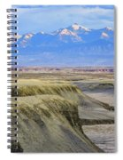 Badlands Of Utah Spiral Notebook
