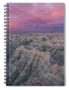 Badlands Sunrise Spiral Notebook